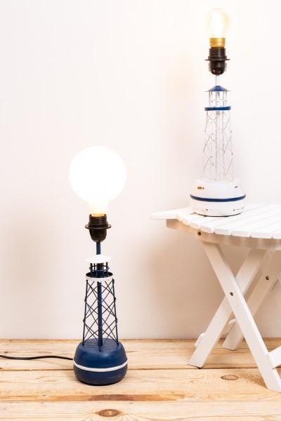 Boje Lampe Set blau und weiß