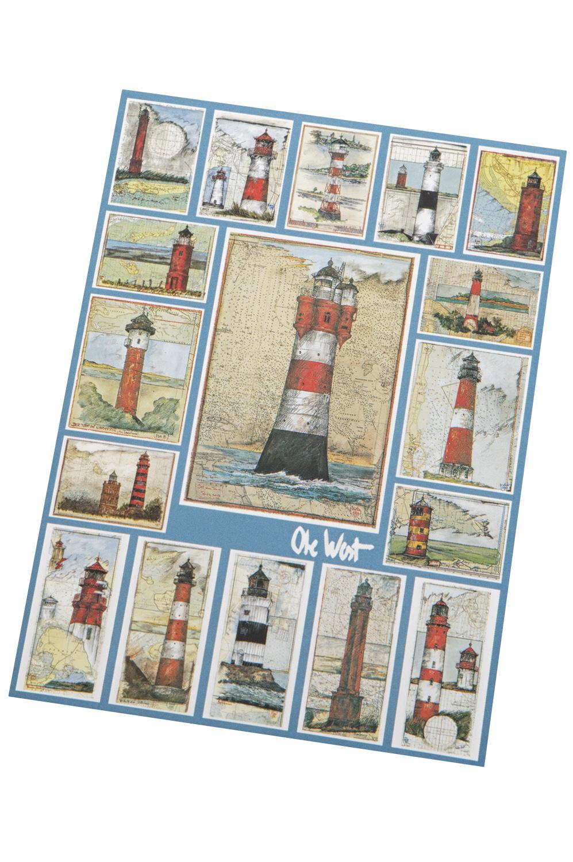 postkarte mit leuchtt rmen online einkaufen mare me maritime dekoration geschenke. Black Bedroom Furniture Sets. Home Design Ideas