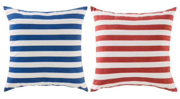 Rote und blaue Kissen hier im Online Shop bestellen   mare-me ... 70451d9510