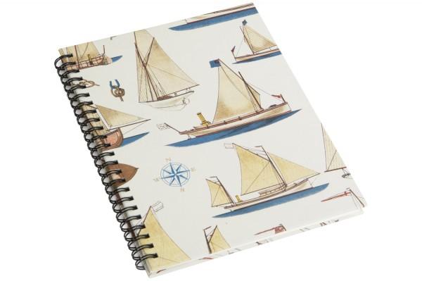 Notizbuch A5 Segelschiffe Knoten