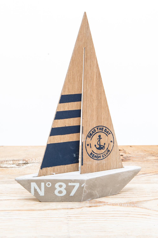 Deko segelboot beton online kaufen mare me maritime - Holzpaddel deko ...