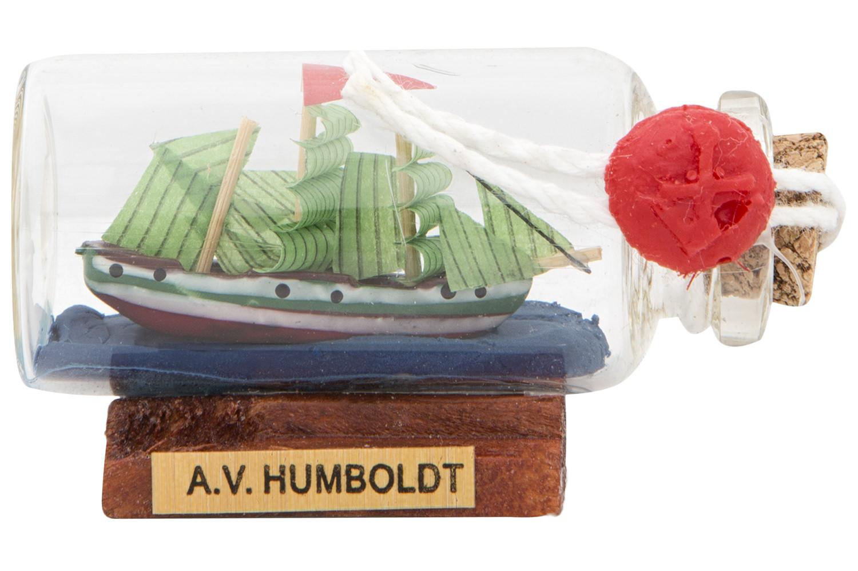 Buddelschiff mini a v h mini flaschenschiffe flaschenschiffe maritime klassiker mare me - Holzpaddel deko ...