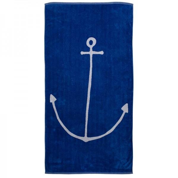 Handtuch blau mit Anker kaufen und bestellen   mare-me. Maritime ... 420197e8d8