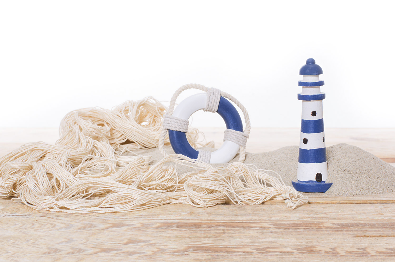 Maritimes dekoset blau wei dekosets deko nach themen maritim dekorieren mare me - Holzpaddel deko ...