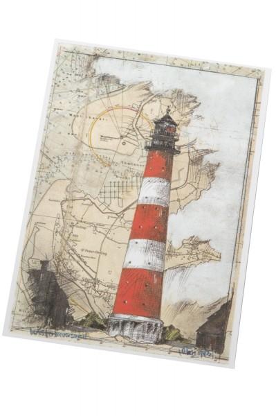 Postkarte Westerheversand, Ole West