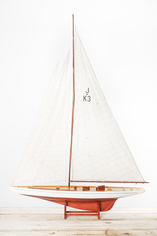 Modell Segelschiff Shamrock 180cm Klassische