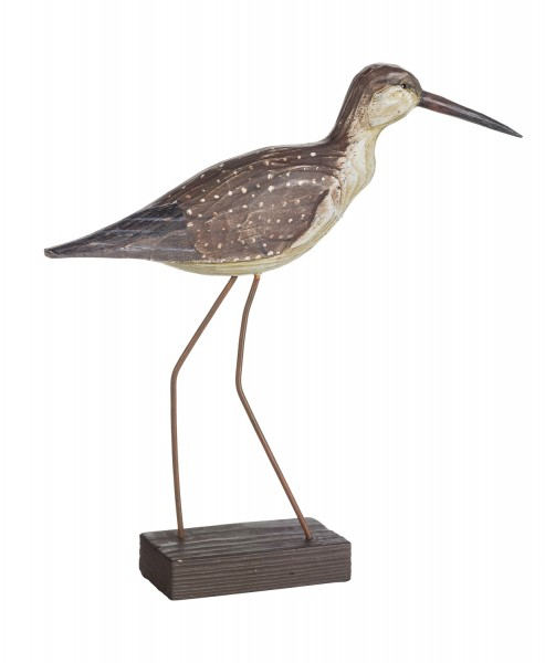 Modell vogel gepunktet v gel deko figuren maritim Maritime deko figuren