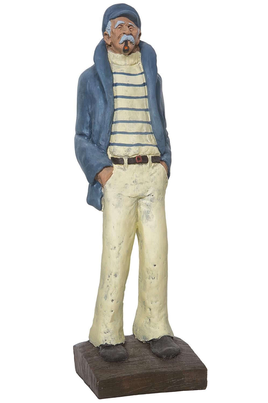 Figur alter fischermann figuren deko figuren maritim Maritime deko figuren