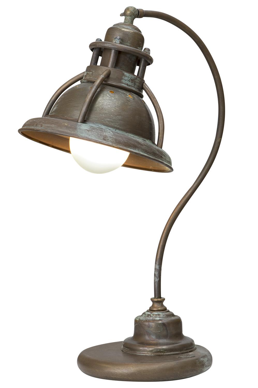 Tischleuchte kupfer antik moretti lampen leuchten for Lampen antik