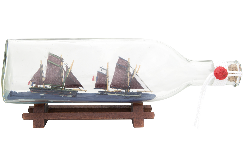 flaschenschiff thunfischf nger 0 7l standard buddelschiffe flaschenschiffe maritime. Black Bedroom Furniture Sets. Home Design Ideas