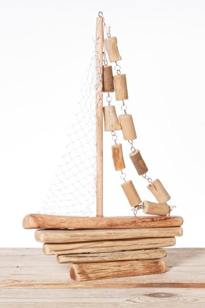 Segelboot Deko Treibholz