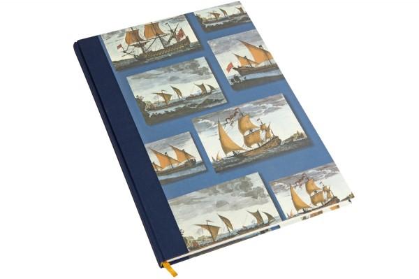 Notizbuch A4, Handelsschiffe