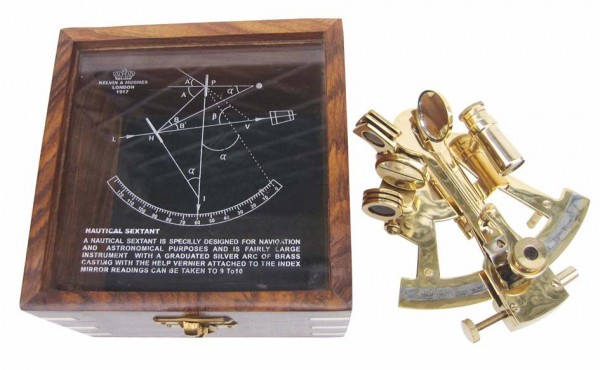 Messing Sextant