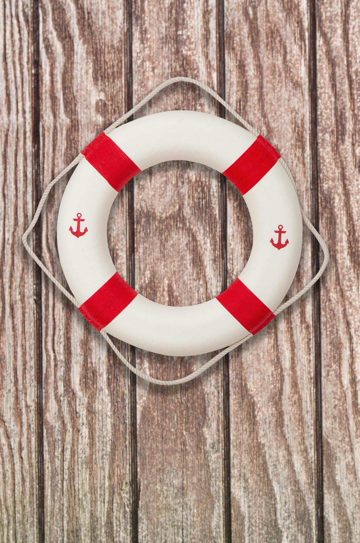Deko rettungsring anker rot und wei zur deko bestellen mare me maritime dekoration geschenke - Holzpaddel deko ...
