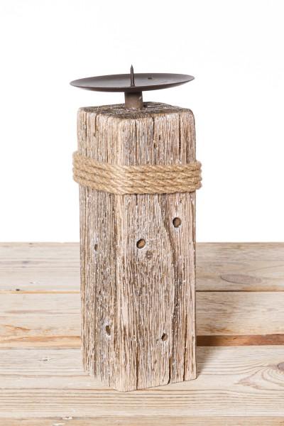 Kerzenständer medium Holz
