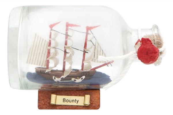 Mini Buddelschiff Bounty