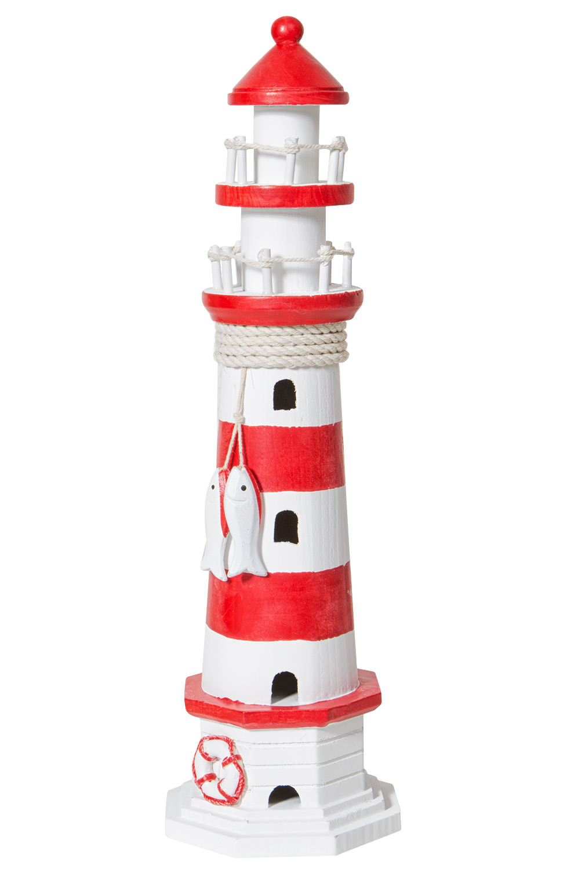 rot wei 223 er leuchtturm dekoration g 252 nstig bestellen mare me maritime dekoration geschenke