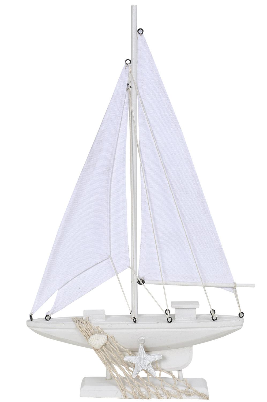 deko segelboot wei gro bunte deko schiffe deko schiffsmodelle maritim dekorieren mare. Black Bedroom Furniture Sets. Home Design Ideas