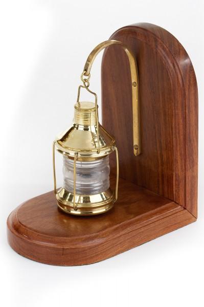 Buchstütze Lampe
