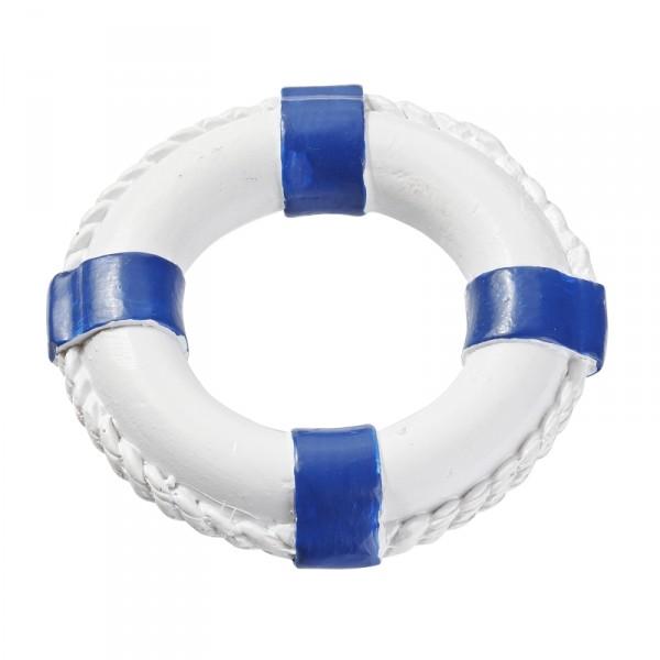 Rettungsring, mini, blau-weiss