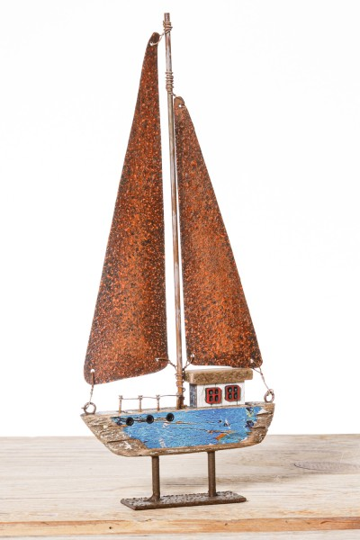 Deko Vintage Segelschiff klein