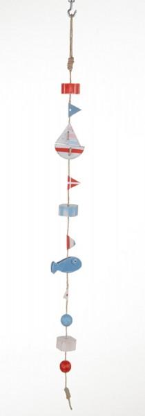 Girlande Segelschiffe, Fische