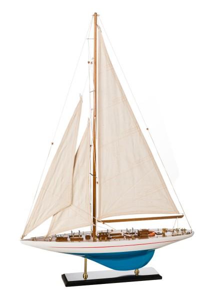 Segelboot Shamrock blau