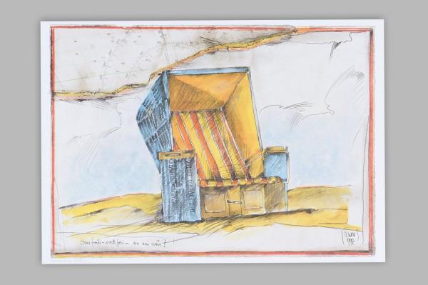 Ole West , Kunstdruck, Ganz früh