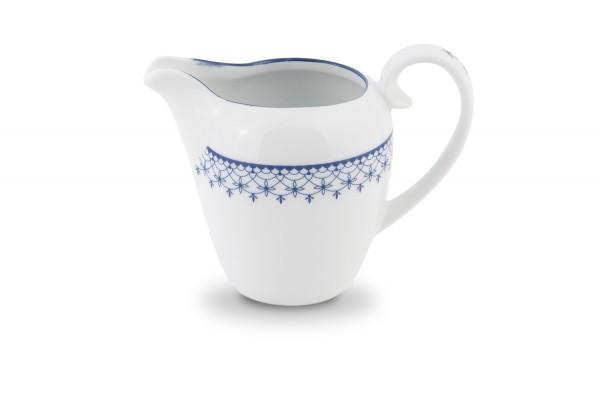 Milchkännchen Porzellan Blau Weiß