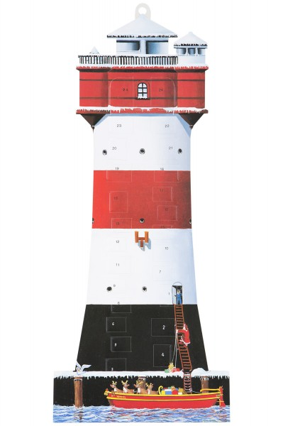 Adventskalender Leuchtturm Roter Sand