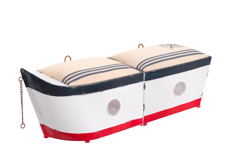 sitzbank boot maritime m bel einrichtung maritim. Black Bedroom Furniture Sets. Home Design Ideas