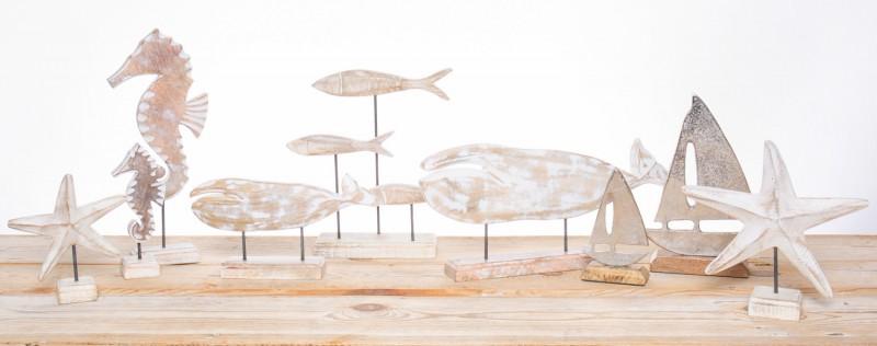 Holz Deko Handarbeit Kunsthandwerk 1x Anhänger Indisch bunt