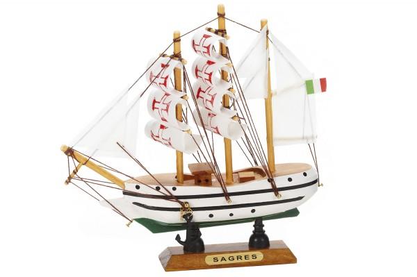 Modellschiff Sagres