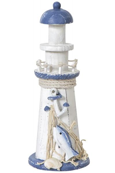 Leuchtturm mit Anker, 22cm