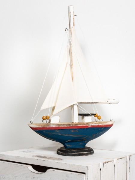 Kleines Segelboot Vintage Stil