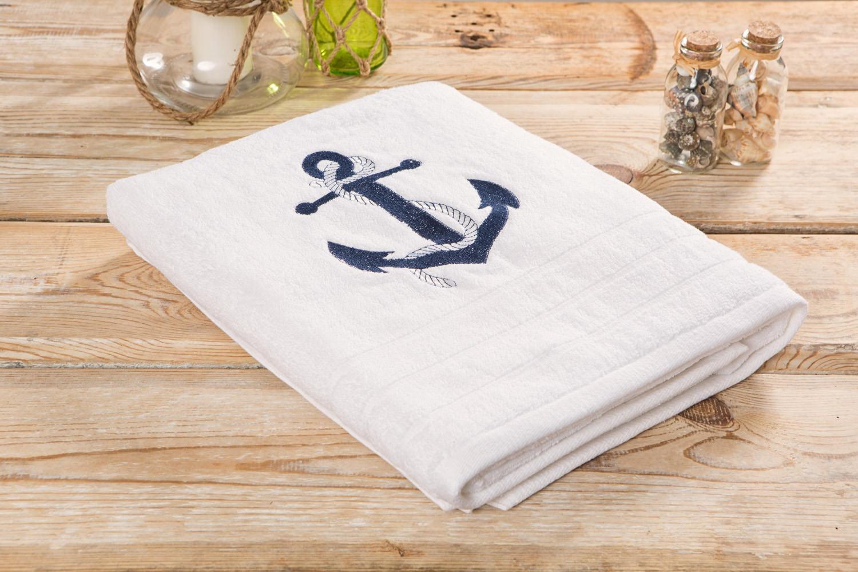 Duschtuch wei anker online preiswert kaufen mare me maritime dekoration geschenke - Holzpaddel deko ...