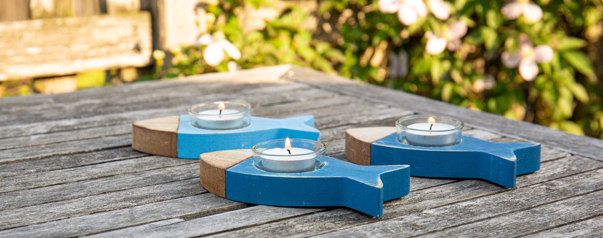 Kerzen, Teelichter