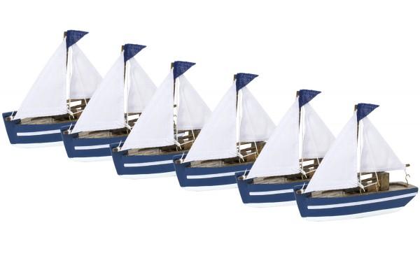 Segelboote, 6er Set