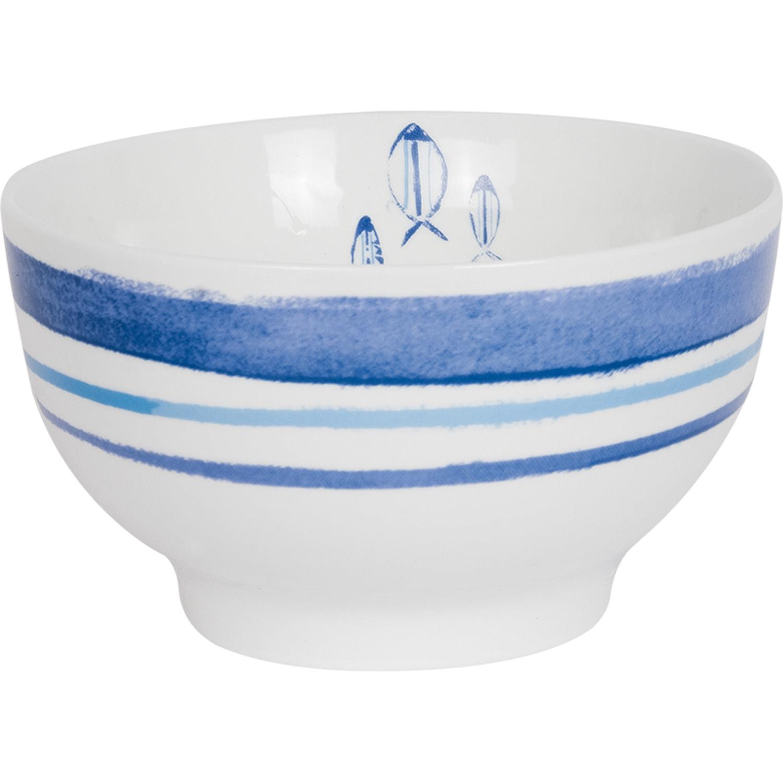 m slischale keramik wei blau bestellen mare me maritime dekoration geschenke. Black Bedroom Furniture Sets. Home Design Ideas