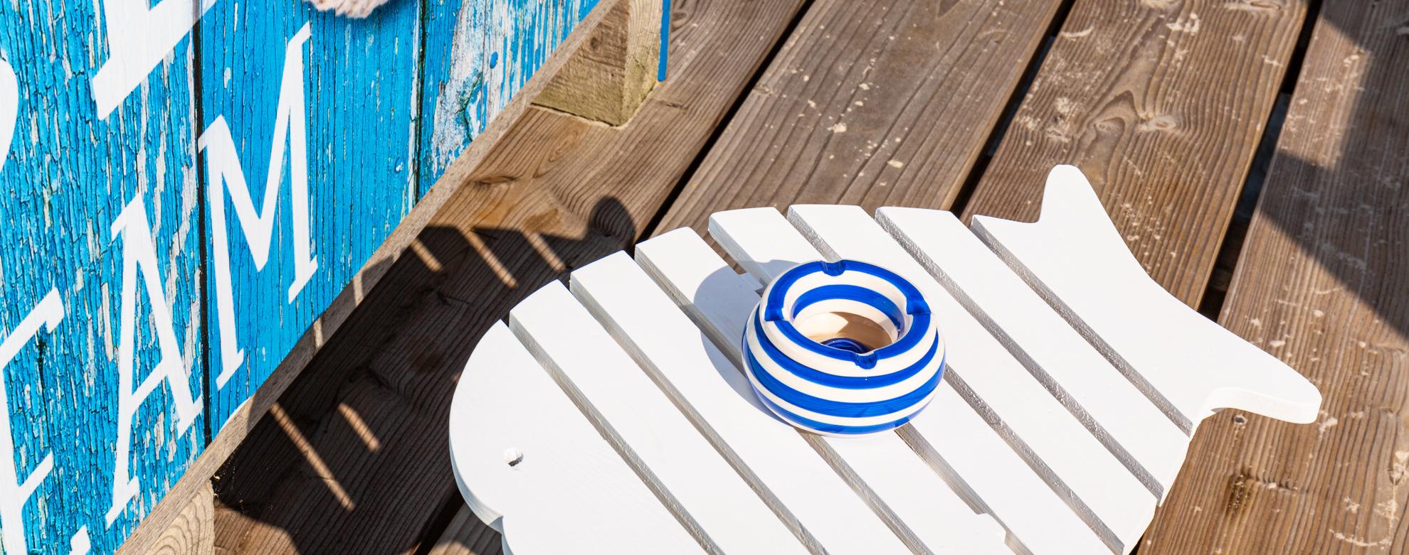 Strandaschenbecher