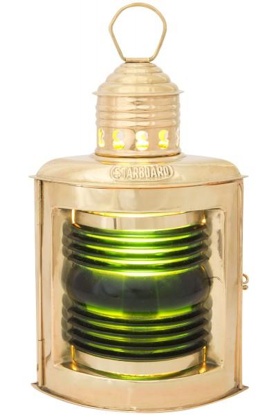 Steuerbordlampe 23cm, Petroleum