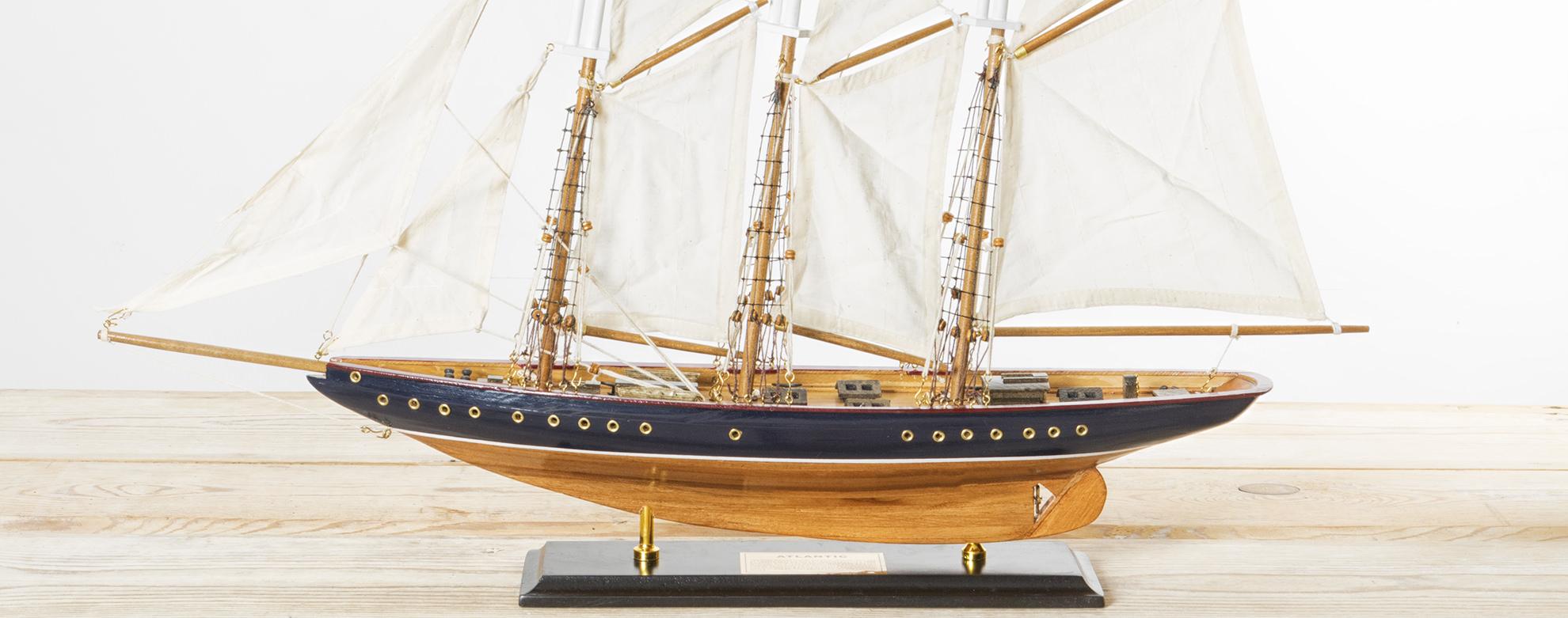 Modellschiffe Segelschiffe histor.