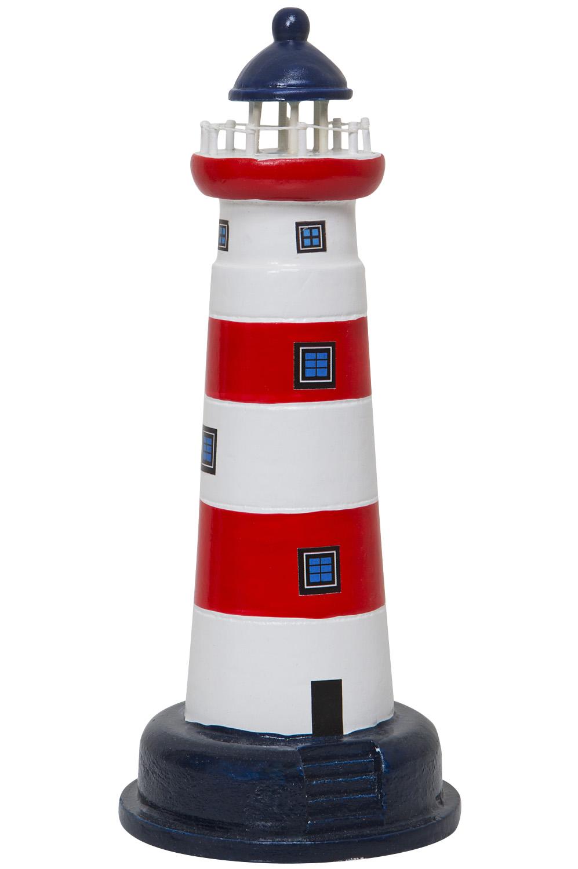 leuchtturm modell rot wei deko klassiker leuchtturm modelle maritim dekorieren mare me. Black Bedroom Furniture Sets. Home Design Ideas