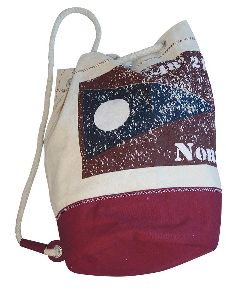 rucksack flagge nord strandtaschen maritim. Black Bedroom Furniture Sets. Home Design Ideas