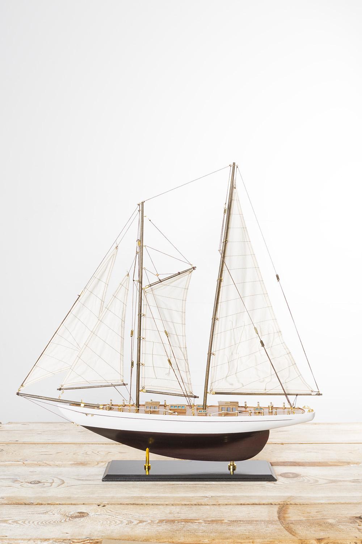 Deko segelyacht gross modellschiffe segelschiffe histor - Holzpaddel deko ...