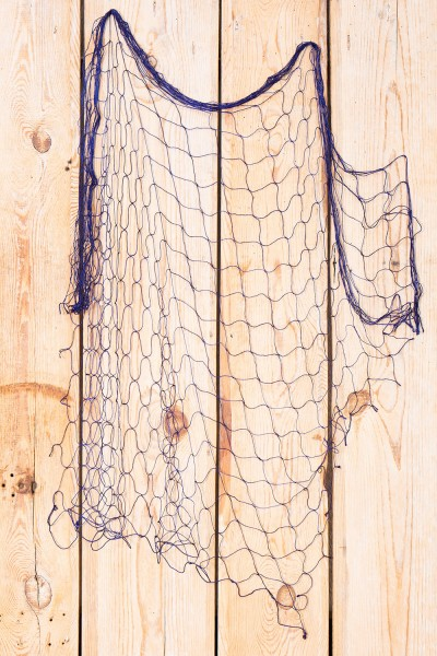 Fischernetz blau 1x1m