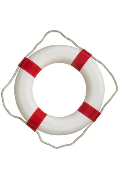 Deko Rettungsring, rot-weiß, 32cm