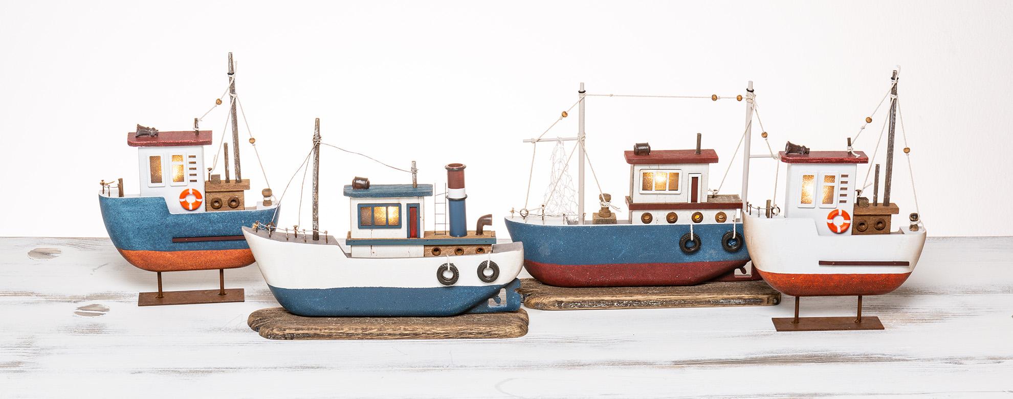 Fischerboote, Krabbenkutter