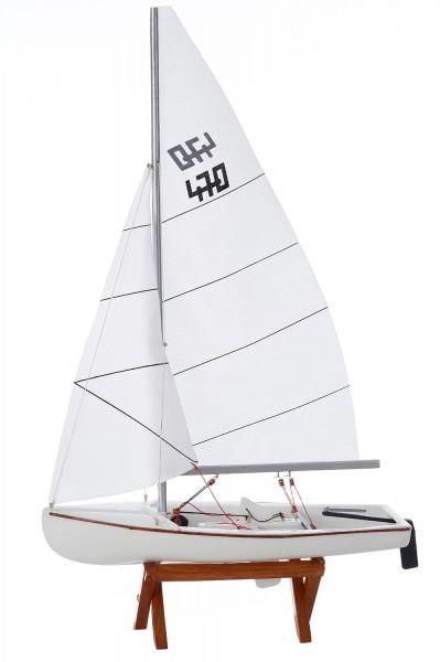 Schiffsmodell weiß klein