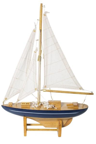 Kleine Deko Segel Yacht